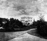 Schloss ohne Seitenflügel um 1860