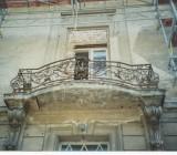 Der Eingangsbereich des Schlosses vor der Sanierung.