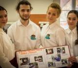 Das Team des deutsch-polnischen Schülercafés